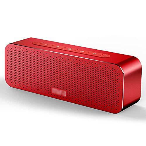 N/A MIFA Altavoz portátil Bluetooth Caja de sonido estéreo inalámbrico Altavoces con soporte de micrófono TF aux TWS (Color: B) mei (Color : A)