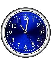 Reloj de coche Clip de ventilación de aire del coche Tablero de instrumentos Ornamento del coche Reloj interior Accesorios automotrices para la decoración Interior del hogar del coche