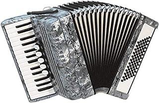 Weltmeister Piano - Acordeón, color gris perlado