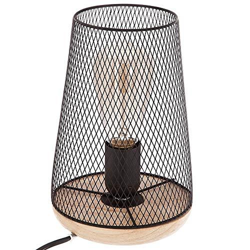 Lámpara de mesa – Estilo Diseño– Color Negro 🔥