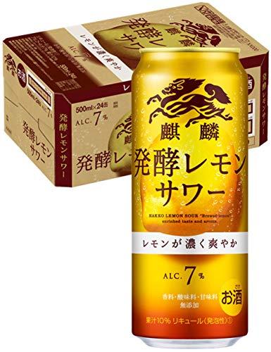 【2021年3月発売】麒麟(キリン) 発酵レモンサワー [ チューハイ 500ml×24本 ]