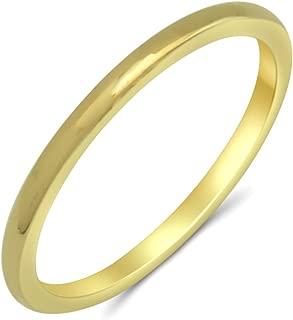 Damen Ring echt Weißgold 333 Perlen 6 mm Supergünstig 333er Gold