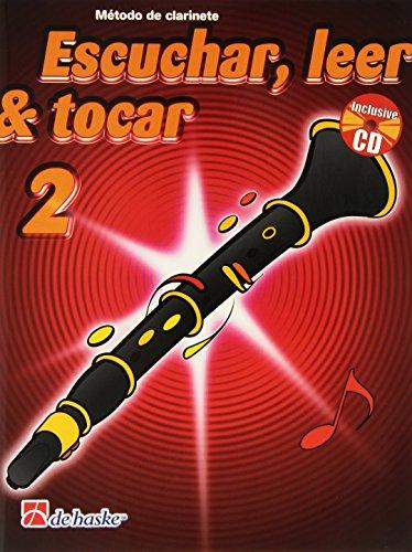 ESCUCHAR LEER Y TOCAR II CLARINETE CD ED.DE HASKE. (ESP