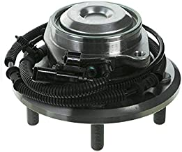 Detroit Axle - Rear Wheel Bearing and Hub Assembly Left or Right Side for 2012-2016 Dodge Grand Caravan [2012-2016 Chrysler Town & Country] - 2012-2015 Ram C/V - [2012-2014 Volkswagen Routan]