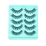 Outsta Big sale! 5 Pair/Lot Crisscross False Eyelashes Lashes Voluminous Hot Eye Lashes Many Kind of Style (A)