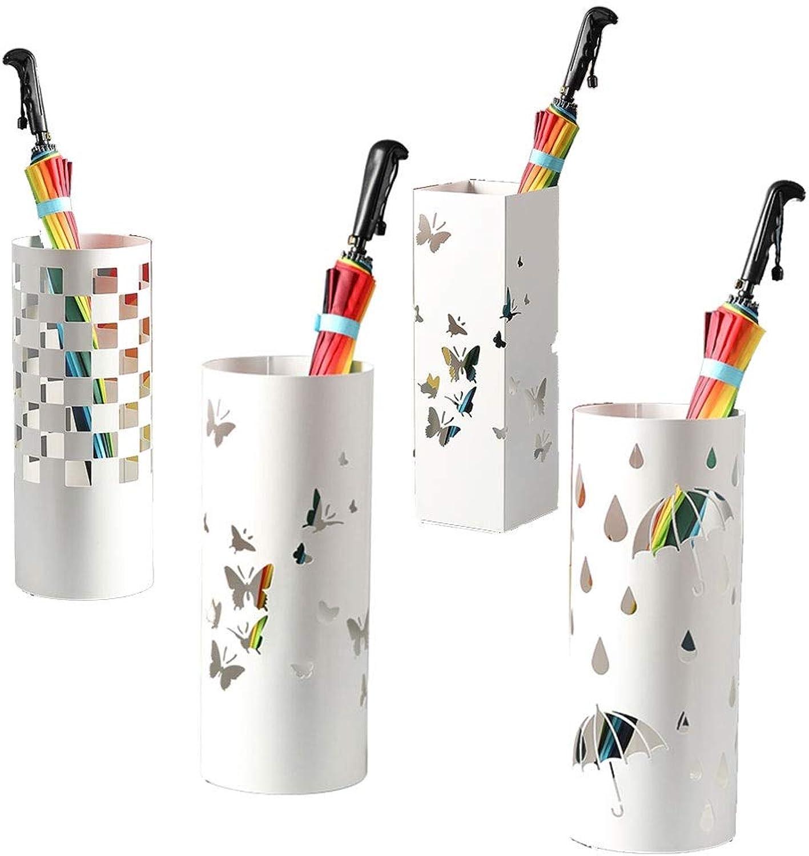 Nordic Creative Umbrella Stand Hotel Lobby Home Wrought Iron Umbrella Umbrella Bucket Storage Bucket Floor-Standing Umbrella Stand 19.5  49cm (Size   3)