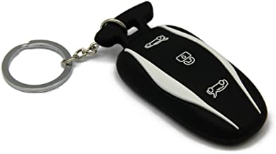NoCutKey Tesla Model 3 and Model X String Key Chain Rope Lanyard
