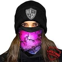 Blackout Forest Camo Salt Armour SA Company Fleece Face Shield Works as Balaclava