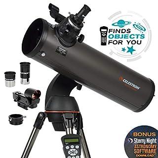 Celestron CE31145-DS NexStar 130 SLT Series Newtonian - Telescopio reflector (importado de Inglaterra) (B0007UQNNQ)   Amazon price tracker / tracking, Amazon price history charts, Amazon price watches, Amazon price drop alerts