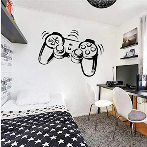 PlayStation Controller PS3 PS4 Spiel Wandkunst Aufkleber Aufkleber Für Junge Kinderzimmer Vinyl Abnehmbares Wandbild Home Raumdekoration 42x30 cm