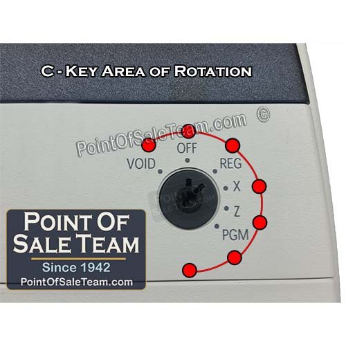 "ER 5200M 5240M 5215M ER-5200 C KEY Dealer Mode ""S"" MODE Register Keys by [PointOfSaleTeam.com]"
