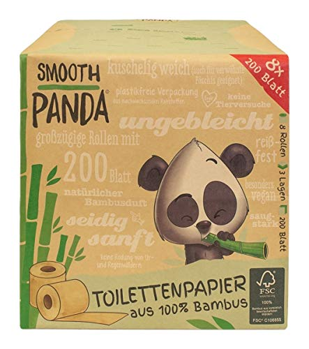Bambus-Toilettenpapier