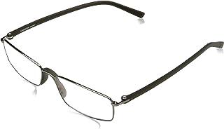 Rodenstock Leesbril R2640 uniseks-volwassene bril voor verziendheid, lichtgewicht leesbril metroestvrijstalen montuur (+1...