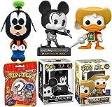Figuras de Disney con diseño de Donald Duck Pop! Incluye un archivo de ratón mágico de Mickey Beanstalk + tres mosqueteros exclusivos 2 artículos