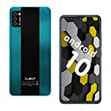 CUBOT Note 7 Smartphone 4G, Teléfono Móvil de 5,5″ Pantalla HD +, Android 10.0, Tripe Cámaras, 16GB ROM(128GB Ampliable SD), Dual SIM, 3100 mAh, Face ID, vert