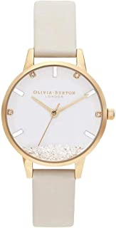 Olivia Burton Gold & Vegan Nude Leather Ladies Watch - OB16SG09