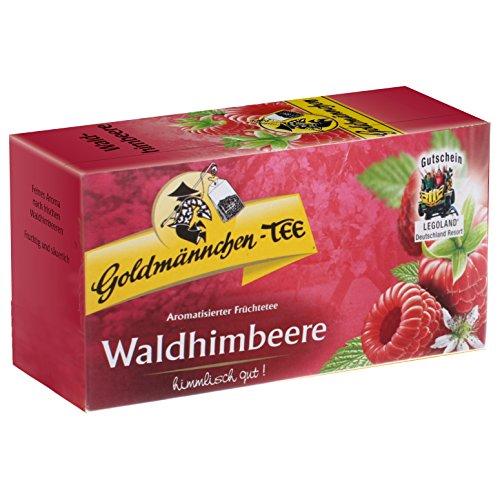 Goldmännchen Tee Waldhimbeere, 20 Teebeutel