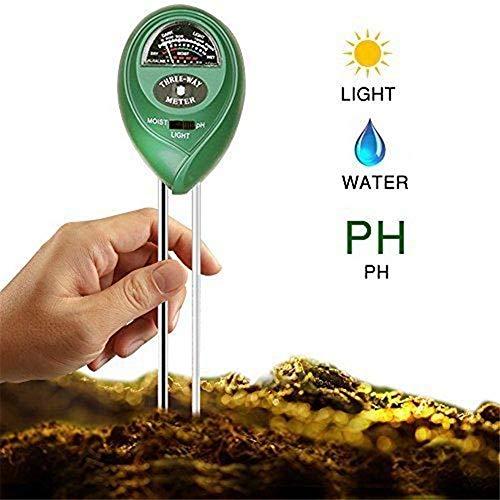 Vvvvanker PH suelo 3-en-1y comprobador intensidad