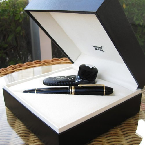 Montblanc MB-10575 Meisterstuck 149 black resin Fountain Pen by MontBlanc