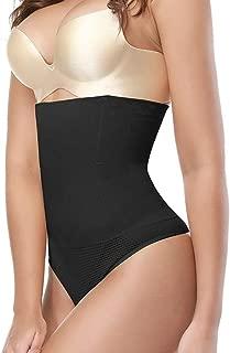 Women High Waist Body Shaper Panties Seamless Tummy Belly Control Waist Slim Pants Shapewear Girdle Underwear Waist Trainer Znynig (Color : Black, Size : 4XL)