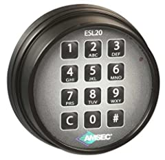 UL Listed Electronic Safe Lock Multiple User Mode: One master code and eight user codes available. Time Delay Mode: Delays can be set from 1 to 99 minutes. Dual Control Mode: Can be programmed to require two combinations to open. Armored Car override...
