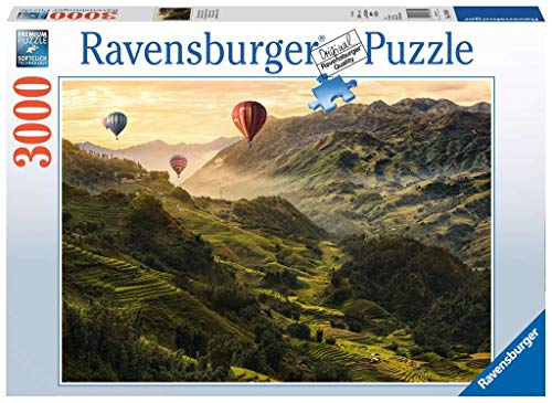 Ravensburger Puzzle 17076 - Reisterrassen in Asien - 3000 Teile Puzzle für Erwachsene und Kinder ab 14 Jahren, Landschaftspuzzle