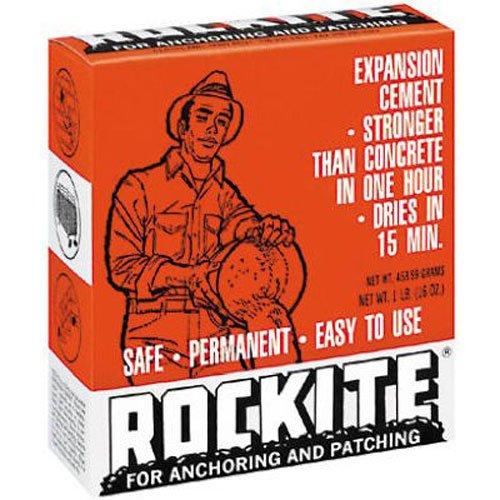 Rockite Expansion Cement 15 Min 1 Lb