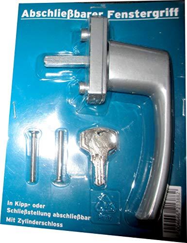 Abschließbarer Fenstergriff/Sicherheits-Fenstergriff Silber