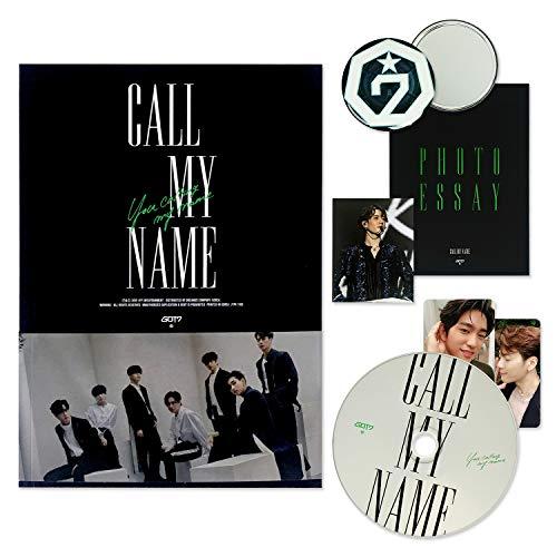 GOT7 Mini Album - CALL MY NAME [ A ver. ] CD + Photobook + Photocards + FREE GIFT
