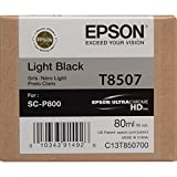 Epson T850700 - Cartucho de tinta, color negro claro, Ya disponible en Amazon Dash Replenishment