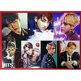 BTS Bangtan Boys – 12 PHOTO POSTERS + STICKER SET A3 Size Bromide + BTS Postcard + Photocard