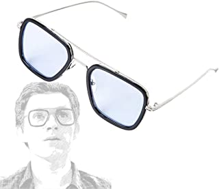 Iron Man Glasses Tony Stark Sunglasses Peter Parker Edith Glasses Accessories Cosplay Prop
