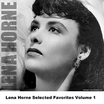 Lena Horne Selected Favorites Volume 1