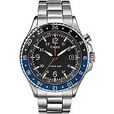 Timex Orologio Analogico Quarzo Uomo con Cinturino in Acciaio Inox TW2R43500