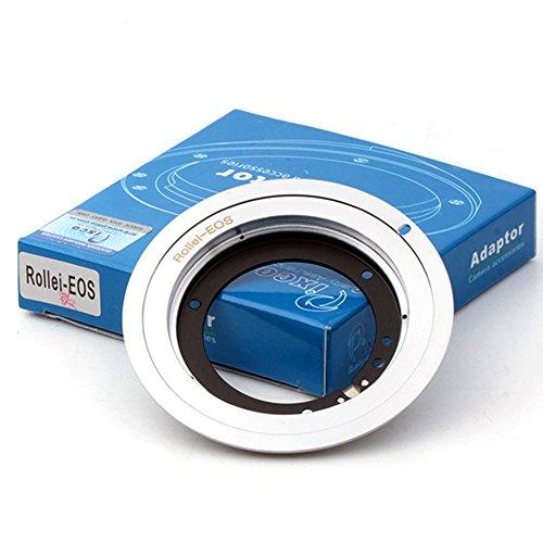 (バシュポ) Pixco レンズ アダプター Rollei QBMレンズ-Canon (D)SLR カメラ対応 (Rollei-EOS)