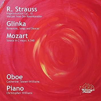 Strauss, Glinka & Mozart: Oboe Transcriptions & Works