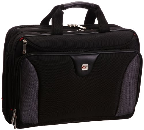 Gino Ferrari Cirrus Laptoptasche Unisex Laptop-Tasche schwarz schwarz/grau Einheitsgröße