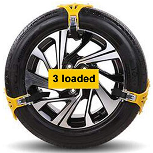 Schneekettenschneeketten Schneeketten 205 60 R16 S2019 New Snow Chain Wheel Autoreifensehne Verdickte AntiRutschKette in Style