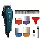 Wahl Professional Animal U-Clip Pet, Dog, & Cat Clipper & Grooming Kit (#9484-400), Teal, One Size