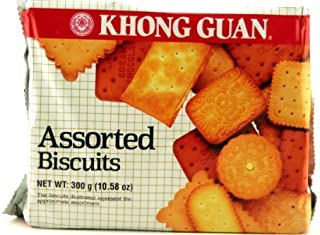 Khong Guan Biscuits (Assorted) (Pack of 1) by DragonMall