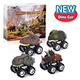 Boys Toys Age 3-9,WIKi Pull Back Dinosaurs Car Toys for 3-9 Year Old