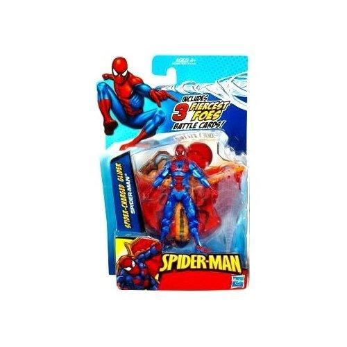 Spider-Man 3.75 inch Action Figure - Spider-Charged Glider Spider-Man