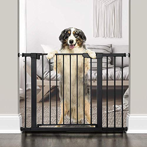 Baybee Auto Close Safety Baby Gate Auto Close Safety Baby Gate, Extra Tall and Wide Child Gate, Easy Walk Thru Durability Dog Gate for The House,... 4