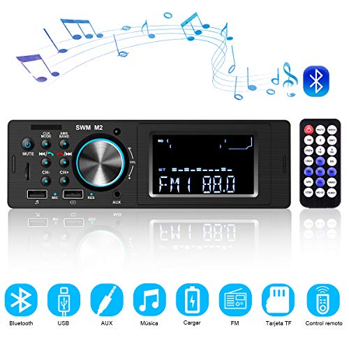 Radio Coche Bluetooth Autoradio Bluetooth