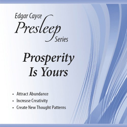 Prosperity Is Yours  Audiolibri
