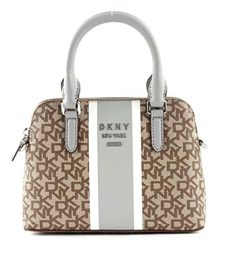 DKNY Whitney Schultertasche grau/braun