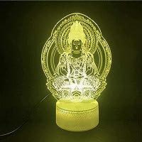 giyiohok 3DイリュージョンランプLEDナイトライトルート66マザールートタッチセンサー寝室の装飾用誕生日プレゼント視覚効果-A1-A18-A5