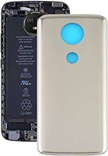 Mobile Phones Communication Accessories Battery Back Cover for Motorola Moto E5 Plus (Color : Gold)