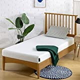 Zinus Memory Foam 5 Inch Bunk Bed / Trundle Bed / Day Bed / Twin Mattress, Khaki