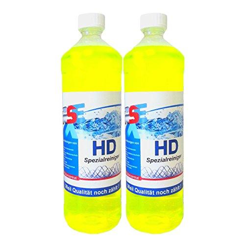 RSE Premium Ultraschallreiniger Konzentrat 2 Liter für Schmuck, Brillen, Vergaser usw.